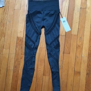 029fb3ff658f25 ALO Yoga Pants | Alo High Waisted Seamless Radiance Leggingsindigo ...